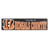 Cincinnati Bengals 8' Banner