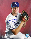 Chris George Kansas City Royals Signed 8x10 Photo