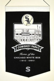 Chicago White Sox Wool Stadium Banner - Comiskey Park