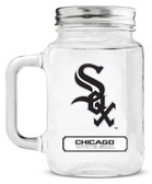 Chicago White Sox Mason Jar Glass With Lid