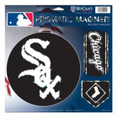 "Chicago White Sox Magnets - 11""x11 Prismatic Sheet"