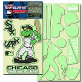 Chicago White Sox Lil' Buddy Glow In The Dark Decal Kit