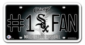 Chicago White Sox License Plate - #1 Fan