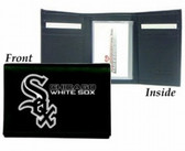 Chicago White Sox Embroidered Leather Tri-Fold Wallet
