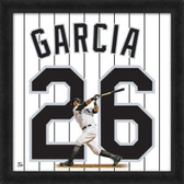 Chicago White Sox Avisail Garcia 20X20 Framed Uniframe Jersey Photo AAQH008