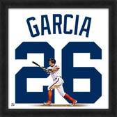 Chicago White Sox Avisail Garcia 20X20 Framed Uniframe Jersey Photo