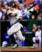 Chicago White Sox Avisail Garcia 2014 Action 40x50 Stretched Canvas