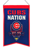 Chicago Cubs Wool Nations Banner