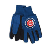 Chicago Cubs Two Tone Gloves