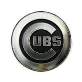 Chicago Cubs Silver Auto Emblem
