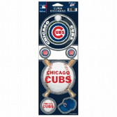 Chicago Cubs Prismatic Stickers
