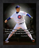 Chicago Cubs Greg Maddux 11x14 Pro Quote