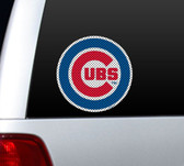 Chicago Cubs Die-Cut Window Film - Large