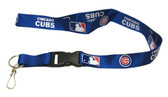 Chicago Cubs Breakaway Lanyard with Key Ring - Blue