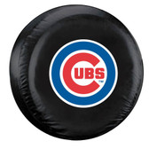 Chicago Cubs Black Tire Cover