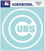"""Chicago Cubs 8""""x8"""" Die-Cut Decal"""