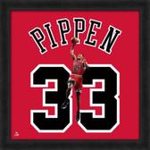 Chicago Bulls Scottie Pippen 20X20 Framed Uniframe Jersey Photo