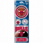 Chicago Bulls Prismatic Stickers