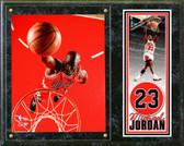 "Chicago Bulls Michael Jordan 15""x12"" Plaque # 1"