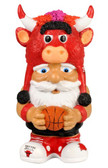 Chicago Bulls Mad Hatter Gnome