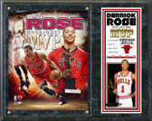 Chicago Bulls Derrick Rose 2010-11 NBA MVP Plaque