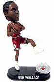 Chicago Bulls Ben Wallace Blatinum Bobblehead