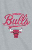 "Chicago Bulls 54""x84""Sweatshirt Blanket - Script Design"