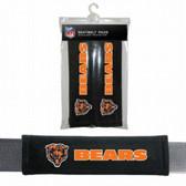 Chicago Bears Velour Seat Belt Pads