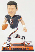 Chicago Bears Rex Grossman On Field Bobblehead