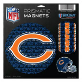 """Chicago Bears Magnets - 11""""x11"""" Prismatic Sheet"""