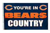 Chicago Bears 3'x5' Country Design Flag