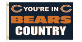 Chicago Bears 3 Ft. X 5 Ft. Flag w/Grommets 94101B