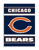 Chicago Bears 2-Sided 28 x 40 House Banner