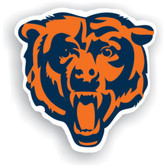 "Chicago Bears 12"" Vinyl Magnet Set Of 2"