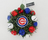Chicago Cubs Christmas Wreath Ornament