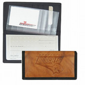 Charlotte Bobcats Leather/Nylon Embossed Checkbook Cover