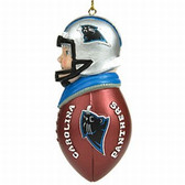 Carolina Panthers Tackler Ornament