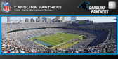 Carolina Panthers Panoramic Stadium Puzzle