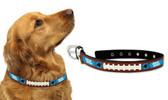 Carolina Panthers Dog Collar - Large