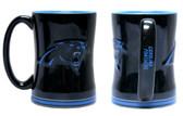 Carolina Panthers Coffee Mug - 14oz Sculpted Warm Up