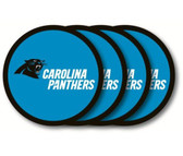Carolina Panthers Coaster Set - 4 Pack
