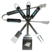 Carolina Panthers 4 pc BBQ Set