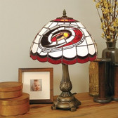 Carolina Hurricanes Tiffany Table Lamp