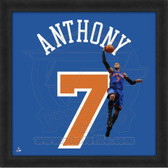 Carmelo Anthony New York Knicks 20x20 Framed Uniframe Jersey Photo