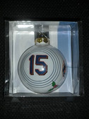 Carlos Beltran New York Mets Glass Ball Ornament