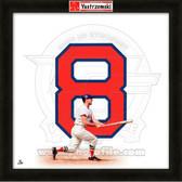 Carl Yastrzemski Boston Red Sox 20x20 Framed Uniframe Jersey Photo