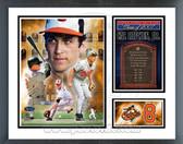 Cal Ripken Jr. Baltimore Orioles Hall of Fame Milestones & Memories Framed Photo