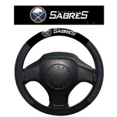 Buffalo Sabres Poly-Suede Steering Wheel Cover