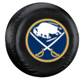 Buffalo Sabres Black Spare Tire Cover - Alternate Logo