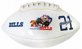 Buffalo Bills Willis McGahee Attitude High Gloss Junior Size Football